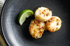 Miso Broiled Scallops from Mark Bittman