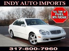 #SpecialOffer #FreeGas | $9,995 | 2005 #MercedesBenzE-Class E500 - for Sale in Carmel IN 46032 #IndyAutoImports