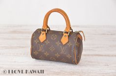 Louis Vuitton Monogram Mini Speedy Cosmetic Bag M41534
