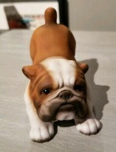 Find many great new & used options and get the best deals for Bulldog Figurine Japan JKJ21B83 at the best online prices at eBay! Free shipping for many products! Ceramic Figures, Bulldog Puppies, French Bulldog, Terrier, Japan, Free Shipping, Best Deals, Plants, Animals