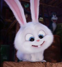 Cute Bunny Cartoon, Cute Cartoon Pictures, Cute Pictures, Cute Disney Wallpaper, Cute Cartoon Wallpapers, Snowball Rabbit, Rabbit Wallpaper, Pets Movie, Dibujos Cute