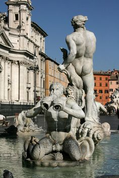 Piazza Navona, photo by Michelle Knight