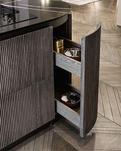 Luxury Kitchens, Cool Kitchens, Custom Kitchens, Home Interior, Kitchen Interior, Interior Colors, Interior Ideas, Interior Design, Design Hotel