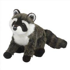 Tip Toes - Raccoon by Douglas Cuddle Toys Raccoon Stuffed Animal, Cute Stuffed Animals, Baby Racoon, Raccoon Costume, Plush Animals, Panda Bear, Cuddling, Safari, Teddy Bear