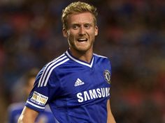 Andre Schurrle of Chelsea FC Football Icon, World Football, Football Soccer, Chelsea Fc Players, German National Team, Asia, Chelsea Football, Soccer Players, Club
