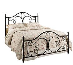 Hillsdale House Milwaukee King Bed - Antiqued Brown Finish
