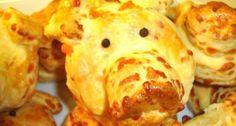 Sajtos malacka pogácsa | APRÓSÉF.HU - receptek képekkel