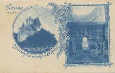Brasov - Ruinele Manastirii Sambata de Sus . anii 1900