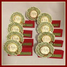 Lüftchen Stempelstudio Bergedorf: Tischkarten für die 2. Weihnachtsfeier, Stampin' Up!, SU, place cards