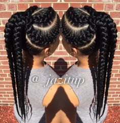 Goddess braids ponytail for black women hairstyles # braided hairstyles f Single Braids Hairstyles, Girl Hairstyles, Goddess Hairstyles, Easy Hairstyles, Updo Hairstyle, Wedding Hairstyles, Gorgeous Hairstyles, Hairstyles Pictures, Hairstyle Tutorials
