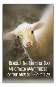 Little Susie Home Maker: Lamb of God, John 1:29
