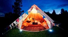 Most amazing tent ever? i think yes
