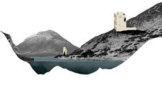 'making sections of a landscape we designed and placed our own pavilions' Manon Meert