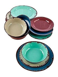 12-Pc. Rustic Melamine Dinnerware Set GetSet2Save https://smile.amazon.com/dp/B01DPUFUDI/ref=cm_sw_r_pi_dp_U4RJxb37BPMKZ