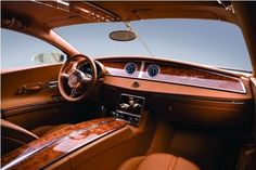 So hot. Would love to have car interior like this.