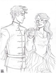 Mistborn - Elend and Vin (Not really, but it reminds me of them :) )