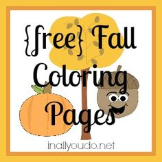 {free} Fall Coloring Pages - In All You Do