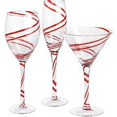 Pieces of a Mom: 25 Days of Christmas: Day 6 ~ Festive Glassware