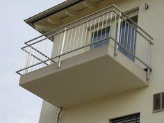 Balkon der Luxusappartments vom Lifestyle mit Aussicht auf Moosbach.