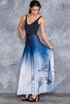 Psycho Maxi Skirt - LIMITED