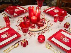Mesa Decoração Natal