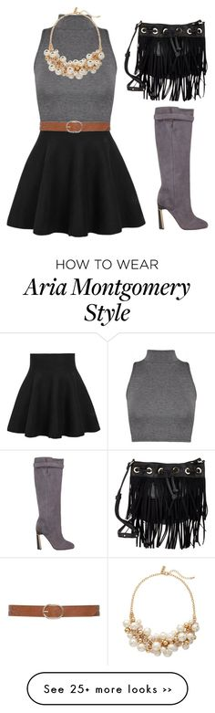 """Aria Montgomery ; Episode 23"" by zzeelleestyles on Polyvore"