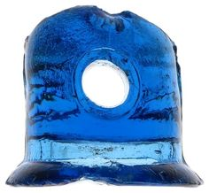 Rare and standout color! Antique Glass, Rare Antique, Lightning Rod, Glass Insulators, Cobalt Blue, Insulation, Auction, Antiques, Beautiful