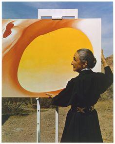 Georgia O'Keeffe  Artist: Michael A. Vaccaro (American, born Greensburg, Pennsylvania, 1922) Date: ca. 1960 Medium: Chromogenic print
