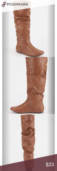 Tan knee high boots Brand new Shoes Over the Knee Boots