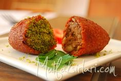 meatballs stuffed with cracked wheat