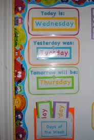 Image result for order the days of the week