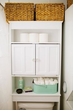Over the toilet Bathroom Storage Idea. 20 Over the toilet Bathroom Storage Idea. Bathroom Storage Over the toilet Bathroom Storage Ideas Above The Toilet Storage, Toilet Shelves, Small Bathroom Storage, Small Storage, Shower Storage, Bath Storage, Hidden Storage, Modern Mobile Homes, Mobile Home Bathrooms