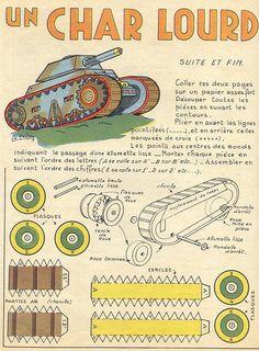 Antique Toy Tank