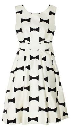 bow tie dress | kate spade
