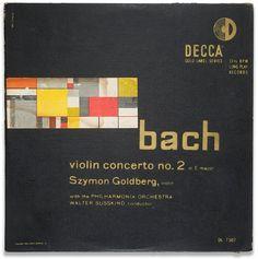 Decca Records - Bach Violin Concerto No.2, Erik Nitsche