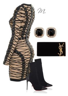 """""""Untitled #7"""" by mariahhhmarie on Polyvore featuring Christian Louboutin, Yves Saint Laurent and Jona more at mariah-marie.com"""