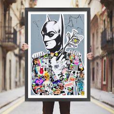 Placa decorativa Batman - StickDecor | Decoração Criativa