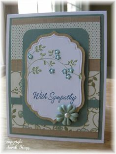 Linen Closet Sympathy by sarahhogg - Cards and Paper Crafts at Splitcoaststampers