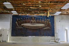 During the process of demolishing a building in Columbia Heights, Washington, District of Columbia an African American Last Supper relief was found behind drywall. It was hidden there for over ten years. The artwork was created by Akili Ron Anderson, a Howard University teacher, in 1982. The construction crews were in the process of turning the building, a former church, into an acting conservatory when the relief was discovered....