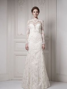 25 Elegant Long Sleeve Wedding Dresses