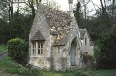 No plan.  Just a sweet stone cottage.