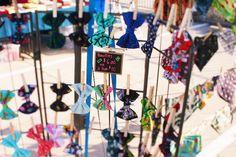 Pet collar bow ties at Lago Vista Farmers Market
