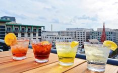 Check out these top rooftop bars in Washington D. With great drinks and even better views, these are the best spots to sip your way through summer. [With a Map] Georgetown Washington Dc, Living In Washington Dc, Washington Dc Travel, Weekend In Dc, Girls Weekend, Rooftop Restaurant, Rooftop Bar, Washington Dc Restaurants, Dc Food