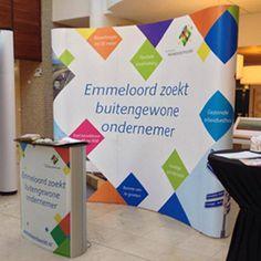 Beurswand voor Gemeente Noordoostpolder. #ComSi Tradeshow Banner Design, Trade Show, Career, Carrera