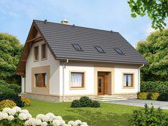 DOM.PL™ - Projekt domu ARN Tamarillo CE - DOM RS1-69 - gotowy projekt domu