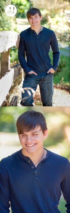 High School Senior Boy Pictures | Late Summer Sunshine Photography | Seattle Portrait Photographer | Jean Johnson Productions - www.jjshotme.com