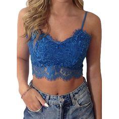 898e71710e Women s Full Coverage Bras Wireless   Lace Bras   Padless - Solid Colored. Lace  Crop TopsBralette ...