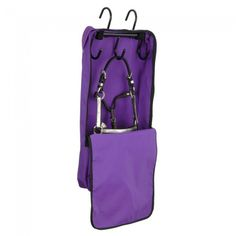 Tough 1® Mini Halter/Bridle Bag with Rack - Great space saver!