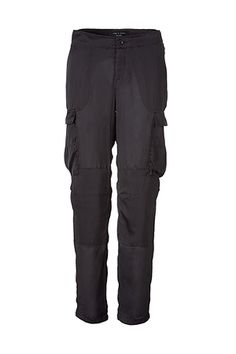 Love Cargo pants for casual -- silk brings it up a notch