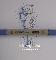 Copic Marker Benelux: Tutorial - Shadow.  Will have to be translated from Dutch.